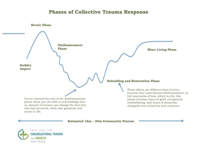 Phases of Collective Trauma Response